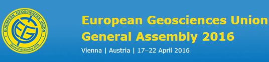 EGU General Assembly 2016, Viena, Áustria, 17-22 Abril 2016