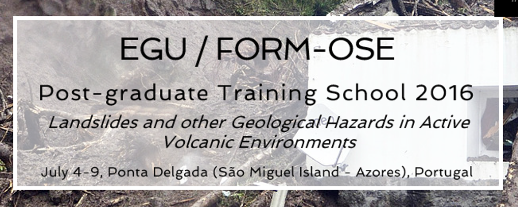 EGU/FORM-OSE, Post-graduate Training School