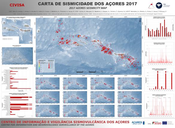 Mapa de sismicidade 2017
