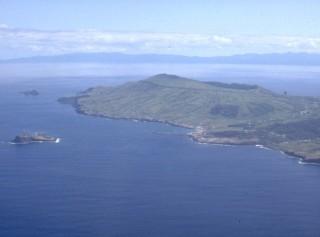 Vulcão Central da Caldeira e Ilhéu da Praia